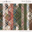 Rustic Wedding Plaid Papers