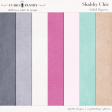 Shabby Chic Solid Papers