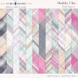 Shabby Chic Plaid Papers