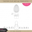 Easter Clip Art Kit #5 Kit Templates