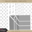 Ballet Paper Templates Kit