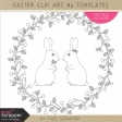 Easter Clip Art Kit #4 Templates