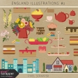 England Illustrations Kit #2
