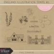 England Illustration Templates Kit #2
