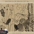 Watercolor Brush Kit #4