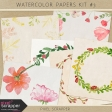 Watercolor Papers Kit #3