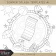 Summer Splash Templates Kit #1