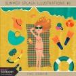 Summer Splash Illustrations Kit #2