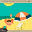 Summer Splash Illustrations Kit #3