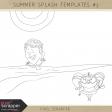 Summer Splash Templates Kit #3
