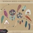 Bohemian Breeze Illustrations Kit