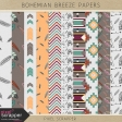 More Bohemian Breeze Papers Kit