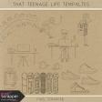 That Teenage Life Templates Kit