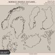 Nordics Doodle Outlines Kit