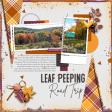 Leaf Peeping Road Trip