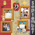 September 2016 Calendar-Our Family