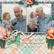 Kissing Great Grandpa