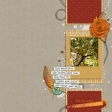 Scraplift: January 2021 - My Fave Colour is Fall...