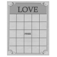 Love Bingo Card Template