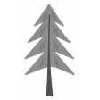 Outdoor Adventures - Layered Template - Pine Tree 01