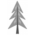 Outdoor Adventures - Layered Template - Pine Tree 02