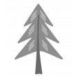 Outdoor Adventures - Layered Template - Pine Tree 03