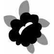 Flower Set 028a - Flower Kit #28 Template