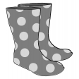 Rain Boots Illustration