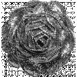 Ric Rac Flower Template 001