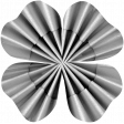 Accordion Flower Template 012