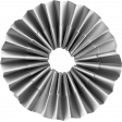 Accordion Flower Template 010