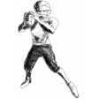 Football Illustration Player
