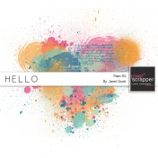 Hello- Paint Kit