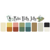 Retro Holly Jolly image