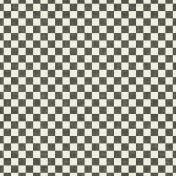 Speed Zone- Black Checkered Paper