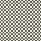 Speed Zone- Black Checkered Paper