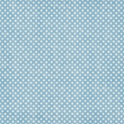 Speed Zone- Blue Polka Dot Paper