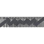 Speed Zone- Tire Tread Zig Zag Ribbon