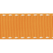 No Tricks, Just Treats- Orange Solid Ribbon