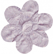 No Tricks, Just Treats- Purple Solid Flower