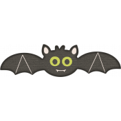 No Tricks, Just Treats- Bat Sticker