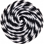 No Tricks, Just treats- Bakers Twine Pinwheel