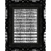 No Tricks, Just Treats- Black Ornate Frame