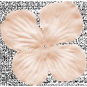 No Tricks, Just Treats-Solid Cream Flower
