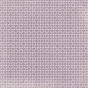 No Tricks, Just Treats-Purple And White Retro Squares Paper