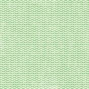 Speed Zone- Green Chevron Paper