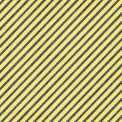 Speed Zone- Black and Yellow Diagonal Stripe Paper