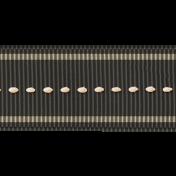 Speed Zone- Black Road Threaded Ribbon
