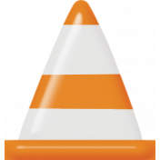 Speed Zone Elements Kit- Caution Cone