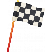 Speed Zone Elements Kit- Checkered Flag